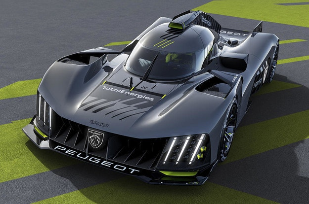 Peugeot разкрива хиперавтомобила 9X8 за 2022