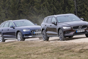 Audi A4 Allroad, Volvo V60 Cross Country