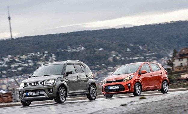 Kia Picanto срещу Suzuki Ignis: Дуел на малките гиганти