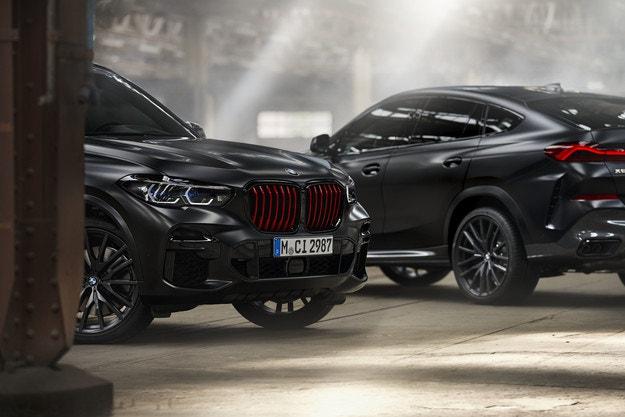 BMW X5 и BMW X6 Black Vermilion