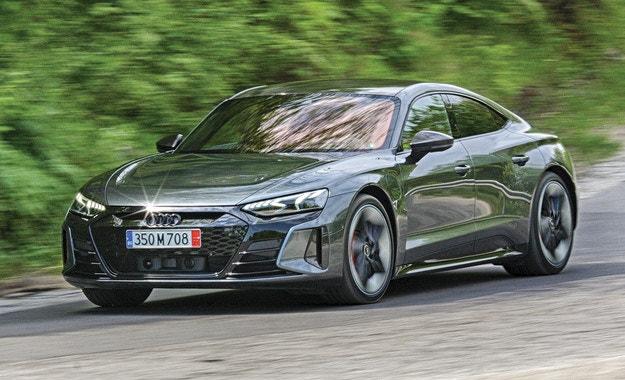 Audi e-tron GT: Гръм и мълнии