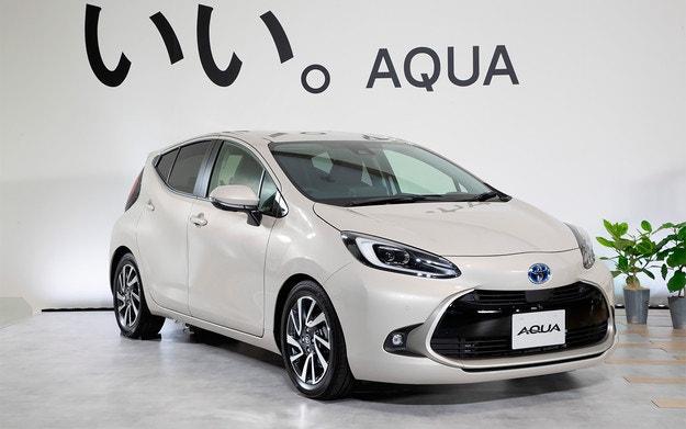 Toyota представи новия хечбек Aqua