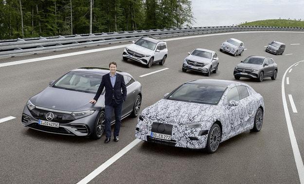Всеки модел на Mercedes електрифициран