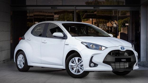 Toyota Yaris стана фургон Ecovan в Испания