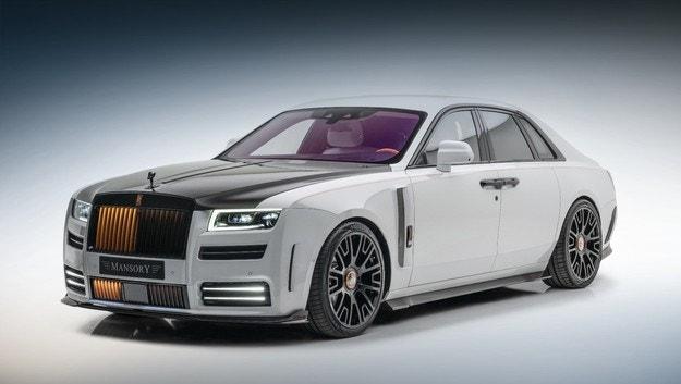 Rolls-Royce Ghost е по-мощен от Mansory
