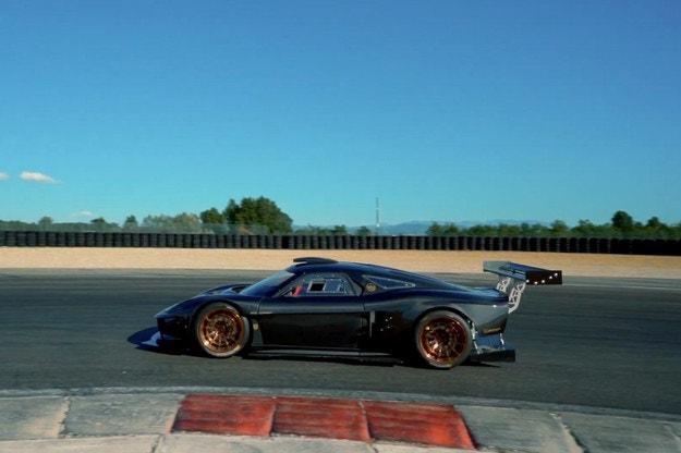 ATS Corsa RR Turbo Serie Carbonio готов за пистата