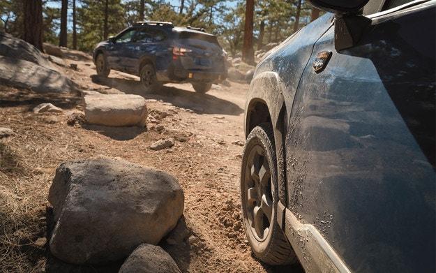 Subaru адаптира Forester към труден офроуд