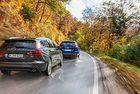 Volvo V60 срещу VW Passat Variant: На първо място