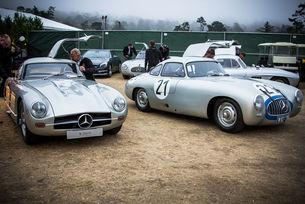 Честват Mercedes-Benz SL на Пебъл Бийч