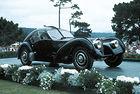 Bugatti чества 70 години участие на Пебъл Бийч