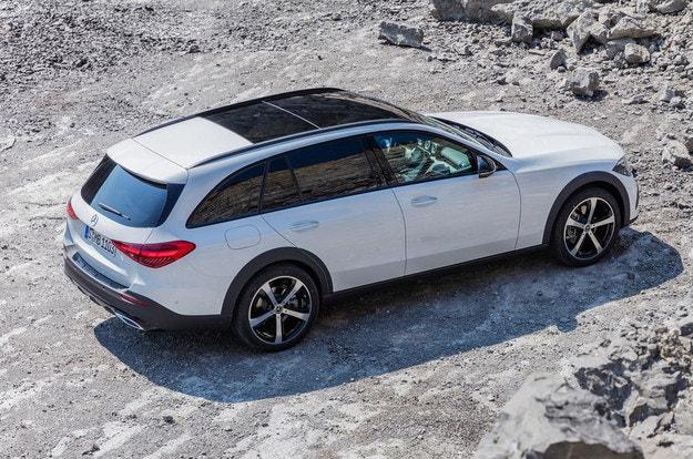 Mercedes-Benz C-класа Estate офроудър в Европа