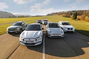 Сравнение на електрически SUV модели