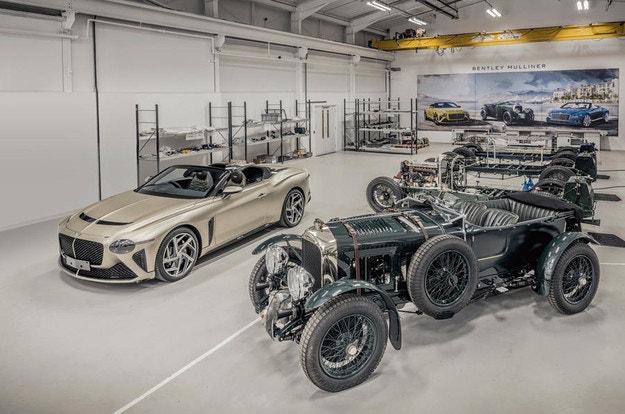 В Крю направиха първия Bentley Mulliner Bacalar