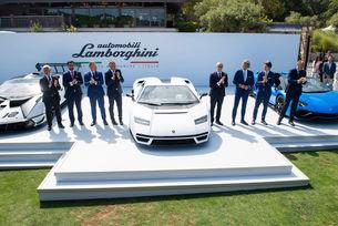 Тиражът на Lamborghini Countach е продаден