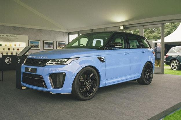 Дебютира Range Rover Sport SVR Ultimate