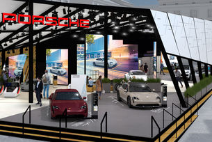Porsche на изложението IAA MOBILITY 2021