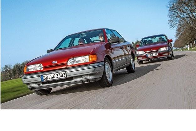 Ford Scorpio 2.0i и Opel Omega 2.6i CD: Големите надежди