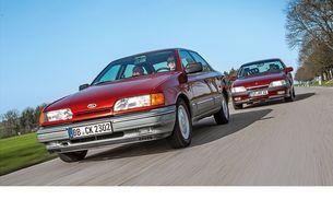 Ford Scorpio и Opel Omega бяха грандиозен опит на европейските филиали на най-големите тогава автомобилни концерни да завладеят горния сегмент на средния клас.