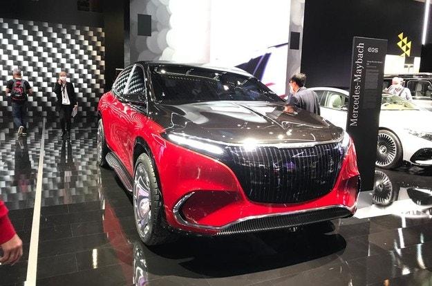 Mercedes-Maybach EQS SUV започва прераждането