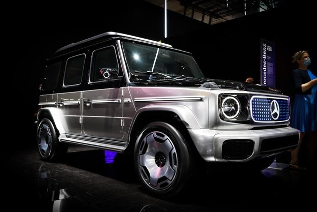 Mercedes EQG Concept впечатли публиката