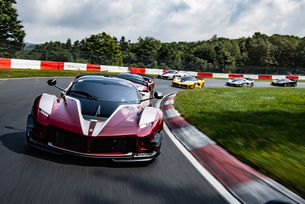 Програмата Ferrari XX стигна Северната дъга