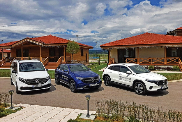 Mercedes електрически модели