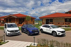 Mercedes EQA, EQC, EQV: Електрически звезди