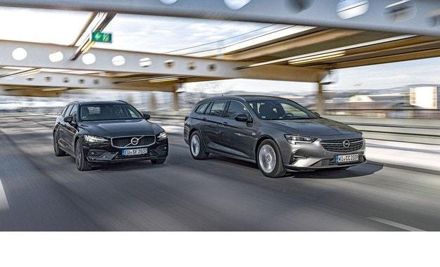 Opel Insignia Sports Tourer и Volvo V60: Стабилна база