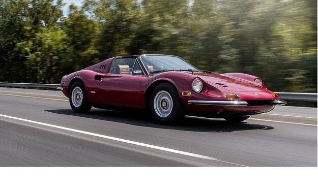 Dino 246 GTS (1973): Малко Ferrari от слънчеви краища