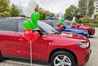 Нови автомобили Haval за медалистите по карате и борба от олимпиадата в Токио