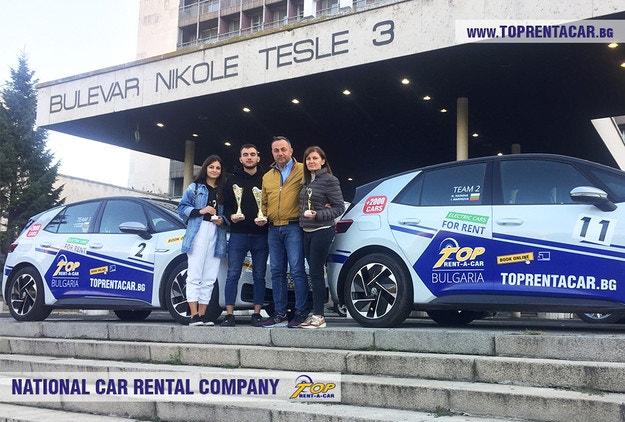 Победа за Top Rent A Car на Tesla Rally – Сърбия 2021