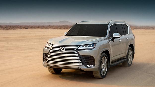 Lexus представя новото поколение на LX