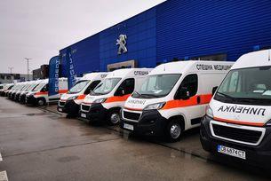 София Франс Ауто достави последните 18 от общо 280 линейки Peugeot Boxer