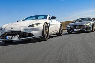 Aston Martin Vantage Roadster & AMG GT Roadster