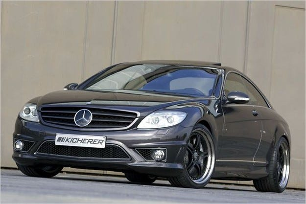 Kicherer Mercedes CL 600 Coupe