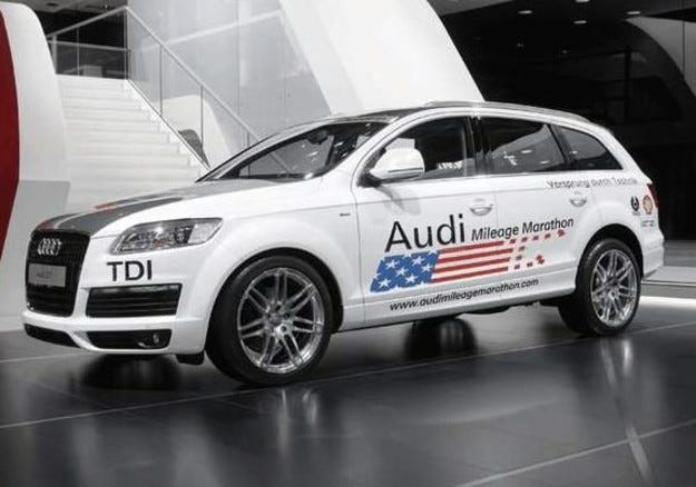 Audi Q7 Ultra Low Emission