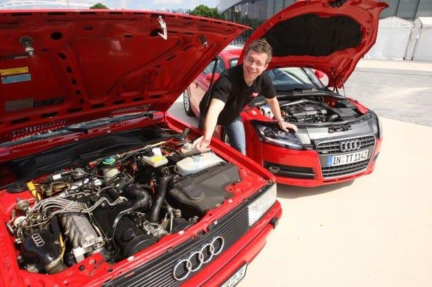 Audi Quattro срещу TT Coupе Quattro