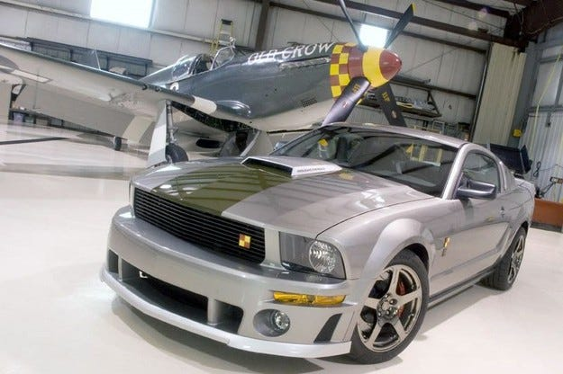 Roush Performance Mustang P-51B