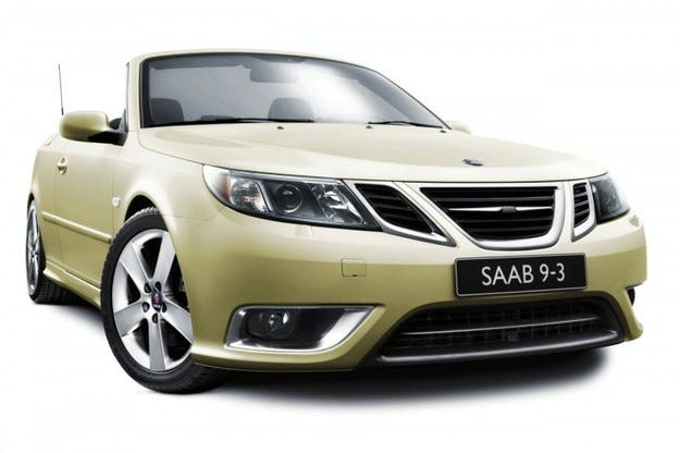 Saab 9-3 Convertible 25th Anniversary Special Edition