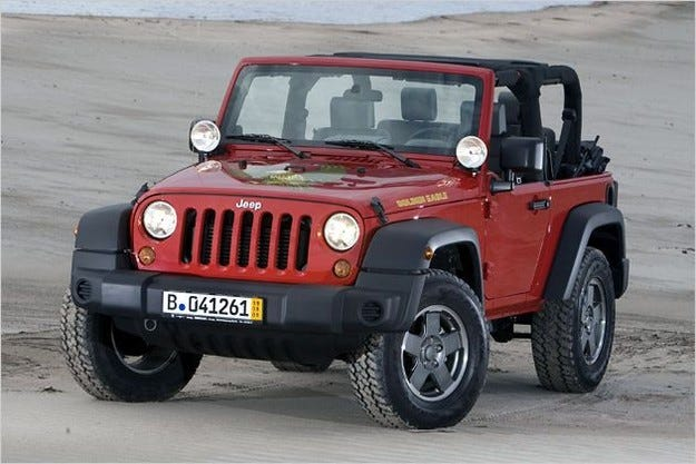 Jeep Wrangler Golden Eagle