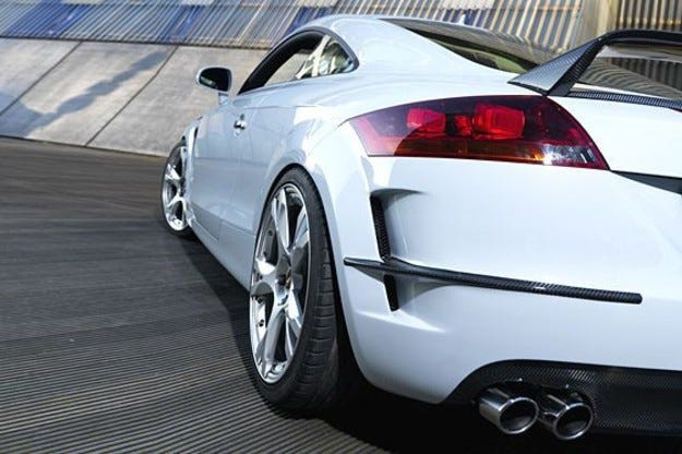 Pogea Racing Audi TT Husttler