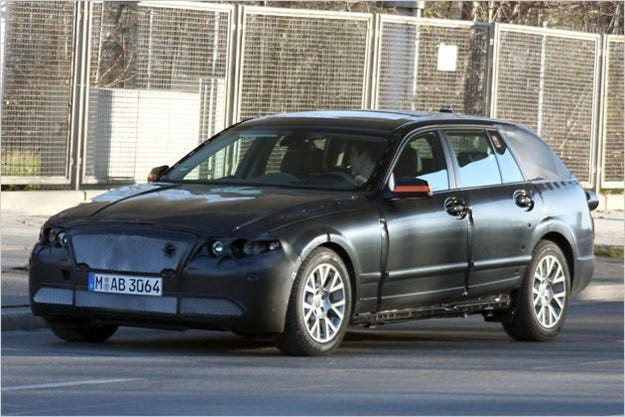 BMW пета серия Touring