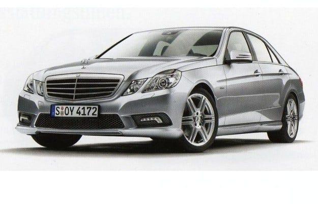 Mercedes E-класа