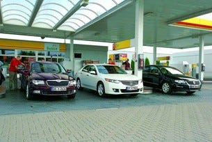 Honda Accord 2.0, Skoda Superb 1.8 TSI, VW Passat 1.8 TSI