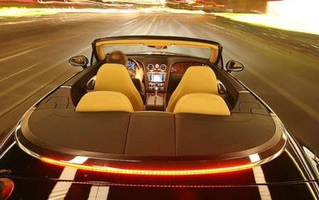 Тест Bentley Continental GTC