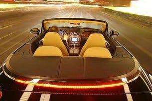 Тест Bentley Continental GTC