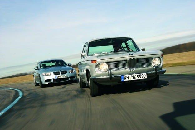BMW 1800 TI/SA срещу BMW M3