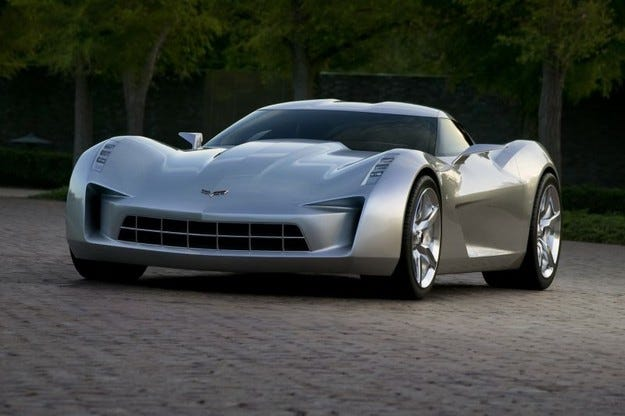 Corvette Sideswipe Concept
