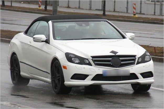 Mercedes E-класа Cabrio
