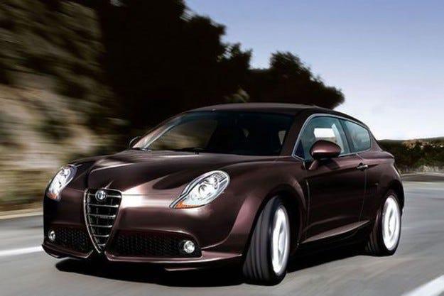 От Alfa Milano до VW Touran